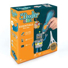 Акция на Набор 3Doodler Start Синяя ручка Креатив и 48 стержней (9SPSESSE2R) от Будинок іграшок