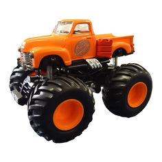 Акция на Машинка Maisto Earth shockers Dusty Dash инерционная оранжевая 12,5 см (21144/21144-14) от Будинок іграшок