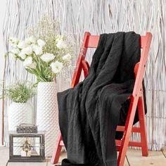 Акция на Плед вязаный Karaca Home - Sofa siyah черный 130*170 (svt-2000022261449) от Allo UA