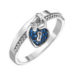 Акция на Серебряное кольцо с фианитами 000145126 18 размера от Zlato