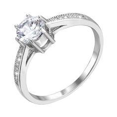 Акция на Серебряное кольцо с фианитами 000118364 17.5 размера от Zlato