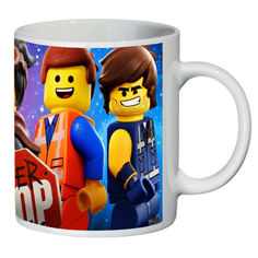 Акция на Кружка Лего LEGO SuperCup (чашка-SC-LG033) от Allo UA