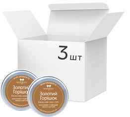 Акция на Упаковка Бальзамов для губ Apothecary Skin Desserts Золотой орешек 13 г х 3 шт (4820000811149) от Rozetka