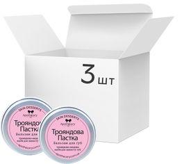 Акция на Упаковка Бальзамов для губ Apothecary Skin Desserts Розовая ловушка 13 г х 3 шт (4820000811125) от Rozetka