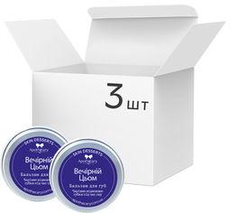 Акция на Упаковка Бальзамов для губ Apothecary Skin Desserts Вечерний цем 13 г х 3 шт (4820000811194) от Rozetka
