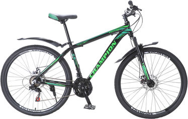 """Акция на Велосипед Champion Lector 29"""" 19"""" Black-green (29ChWAL21-003203) от Rozetka"""