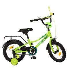 Акция на Велосипед детский двухколесный PROFI Prime 12 Зеленый (Y12225) от Allo UA
