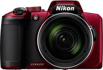 Акция на Фотоаппарат NIKON Coolpix B600 Red (VQA091EA) от MOYO