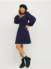 Акция на Платье Karree Пальмира P1861M6037 M Темно-синее (karree100012760) от Rozetka