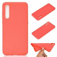 Акция на Candy Silicone для Samsung Galaxy A30s / A50 / A50s цвет Красный (063108_5) от Allo UA