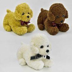 Акция на Мягкая игрушка Собачка С 22841 (150) 3 цвета от Allo UA