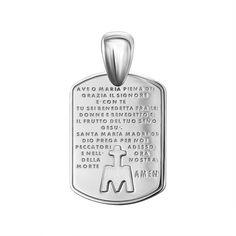 Акция на Ладанка с молитвой из серебра 000146404 от Zlato