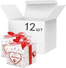 Акция на Упаковка конфет Любимов в молочном шоколаде 208 г х 12 шт (4820075500405) от Rozetka