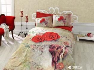 Акция на Комплект постельного белья Cotton Box 3D Greta 200 x 220 (010077295) от Rozetka