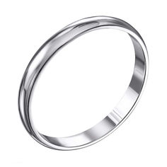 Акция на Серебряное обручальное кольцо 000119331 15.5 размера от Zlato