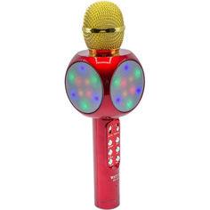 Акция на Беспроводной караоке микрофон Wster WS-1816 Red от Allo UA
