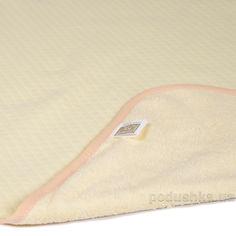Акция на Двусторонняя непромокаемая пеленка Эко Пупс Jersey Classic желтая 50х70 см от Podushka