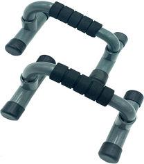 Акция на Упоры для отжиманий Newt Push Gym NE-1-06 2 шт Черные (NE-1-06) от Rozetka