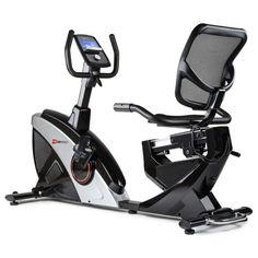 Акция на Горизонтальный велотренажер HS-070L Helix серебристый iConsole+ от Allo UA