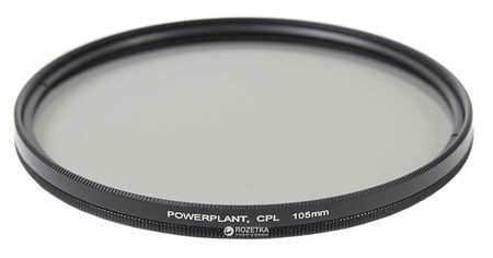 Акция на Светофильтр PowerPlant CPL 105 мм (CPLF105) от Rozetka