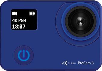 Акция на Видеокамера AirOn ProCam 8 Blue (4822356754475) от Rozetka