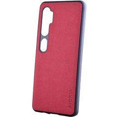 Акция на Чехол AIORIA Textile PC+TPU для Xiaomi Mi Note 10 / Note 10 Pro / Mi CC9 Pro Красный от Allo UA