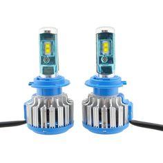 Акция на Светодиодные автомобильные лампы Turbo Led T1 H7 35W 3500LM 6000K от Allo UA