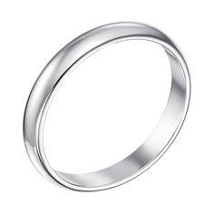 Акция на Серебряное обручальное кольцо 000129017 15 размера от Zlato