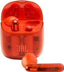 Акция на Наушники JBL Tune 225 TWS Ghost Orange (JBLT225TWSGHOSTORG) от Rozetka