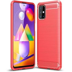 Акция на TPU чехол Slim Series для Samsung Galaxy M31s Красный от Allo UA