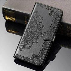 Акция на Кожаный чехол (книжка) Art Case с визитницей для Samsung Galaxy M51 Черный от Allo UA