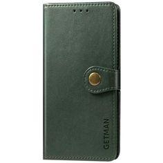Акция на Кожаный чехол книжка GETMAN Gallant (PU) для Samsung Galaxy M51 Зеленый от Allo UA