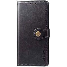 Акция на Кожаный чехол книжка GETMAN Gallant (PU) для Samsung Galaxy M31s Черный от Allo UA