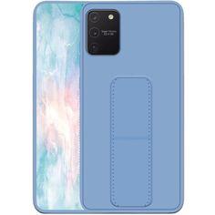 Акция на Силиконовый чехол Hand holder для Samsung Galaxy S10 Lite Light blue от Allo UA
