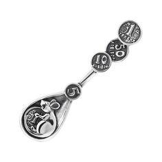 Акция на Сувенир серебряная ложка-загребушка 000141221 от Zlato