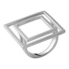 Акция на Кольцо из серебра, размер 18 (1738356) от Allo UA