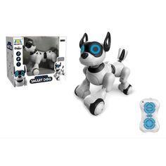 Акция на Детская интерактивная игрушка робот - собака на радиоуправлении,  JZL от Allo UA