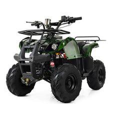 Акция на Квадроцикл для подростков Profi HB-EATV1000D-10(MP3), мотор 1000W безщеточный, 4 аккумулятора 12V/20AH, до 30 км/ч, до 120 кг, зеленый от Allo UA
