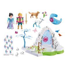 Акция на Конструктор Playmobil Magic Хрустальные ворота в мир зимы (9471) от Будинок іграшок