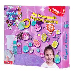 Акция на Набор для творчества Paulinda Crystal glue Бижутерия 17 в 1 (PL-199639) от Будинок іграшок