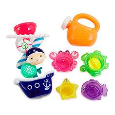 Акция на Игрушечный набор для ванны Addo Droplets Пираты (312-17109-B) от Будинок іграшок