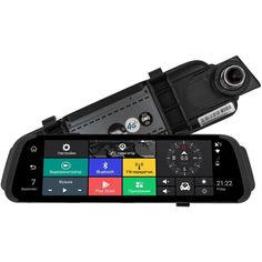 Акция на Зеркало GPS навигатор с видеорегистратором 3 в 1 DAKOTA 787 Cruise 4G W-CDMA 1Gb 16Gb + Камера Заднего Вида с картой памяти 64GB UHS-1 от Allo UA