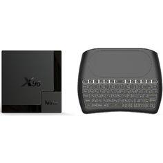 Акция на Медиаплеер X96 MATE 4гб 64Гб Allwinner H616 Андроид 10 + D8 Vontar беспроводная клавиатура с подсветкой и тач панелью от Allo UA