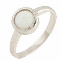 Акция на Кольцо из серебра с опалом, размер 17.5 (1401228) от Allo UA