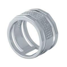 Акция на Кольцо из серебра с куб. циркония, размер 17 (1726503) от Allo UA