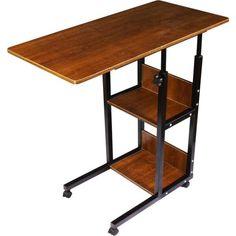 Акция на Прикроватный столик для завтрака и ноутбука на колесиках с дополнительными полками Wellamart (Арт. 5901) от Allo UA