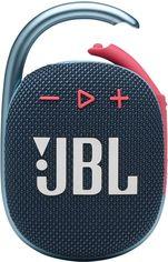 Акция на Акустическая система JBLClip 4 Blue Pink (JBLCLIP4BLUP) от Rozetka