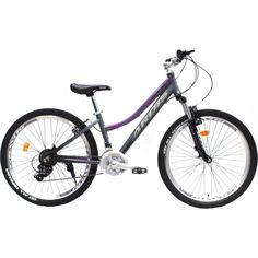 """Акция на Велосипед ARDIS 26"""" FLORIDA 14"""" Серо-фиолетовый (0195S1) 2021 от Allo UA"""