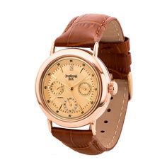 Акция на Золотые кварцевые часы 000136605 от Zlato