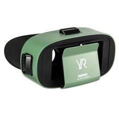 Акция на Очки виртуальной реальности VR Remax RT-V05 Original Зеленый от Allo UA